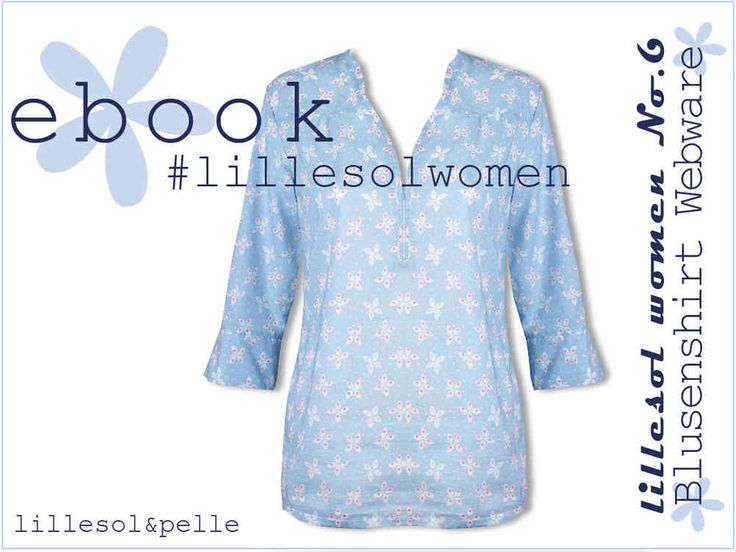 Ebook / Schnittmuster lillesol women No.6 Blusenshirt Webware