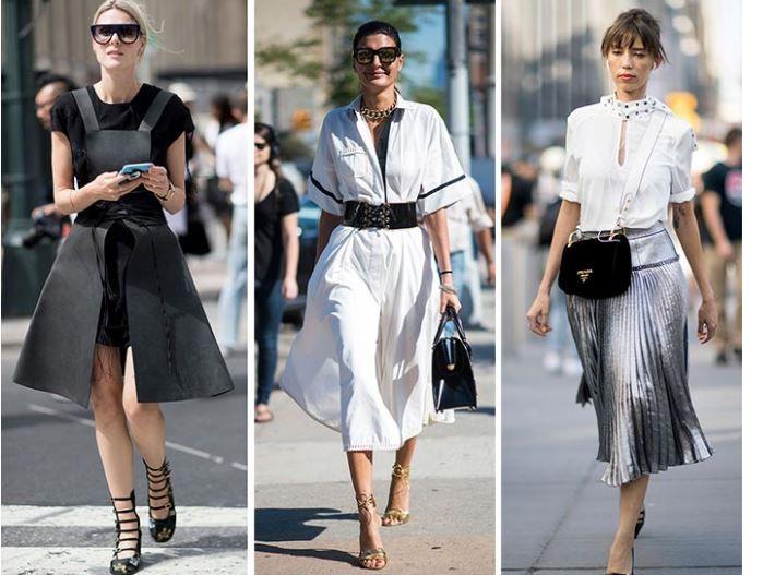 Kombin tercihini siyah, beyaz ve gri tonlar olmak üzere üç farklı konsept... #2017moda #trendler #trends #trends2017 #trendmoda #kıyafetler #giyim #kombin #moderngiyim #günlükgiyim #şıkgiyim #cool #tarzkombinler
