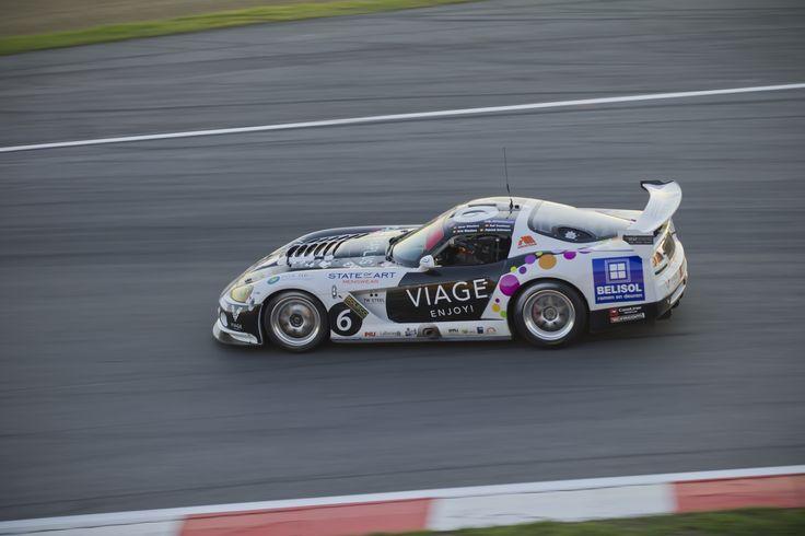 Dodge Viper race car. 24 hours Zolder Circuit