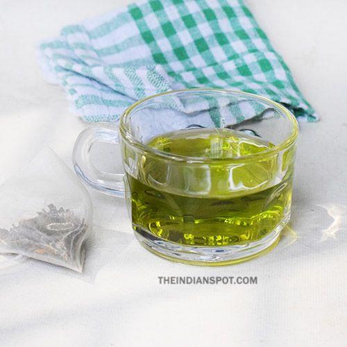 GREEN TEA FOR HAIR: STIMULATE HAIR GROWTH