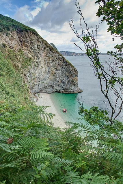 Phoebe's Point, St Austell Bay, Cornwall. England by Bob.Bee