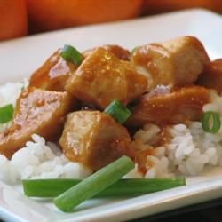 Mama's Asian Chicken and Rice Recipe