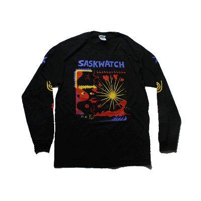 Album Logo Black Long Sleeve Tshirt