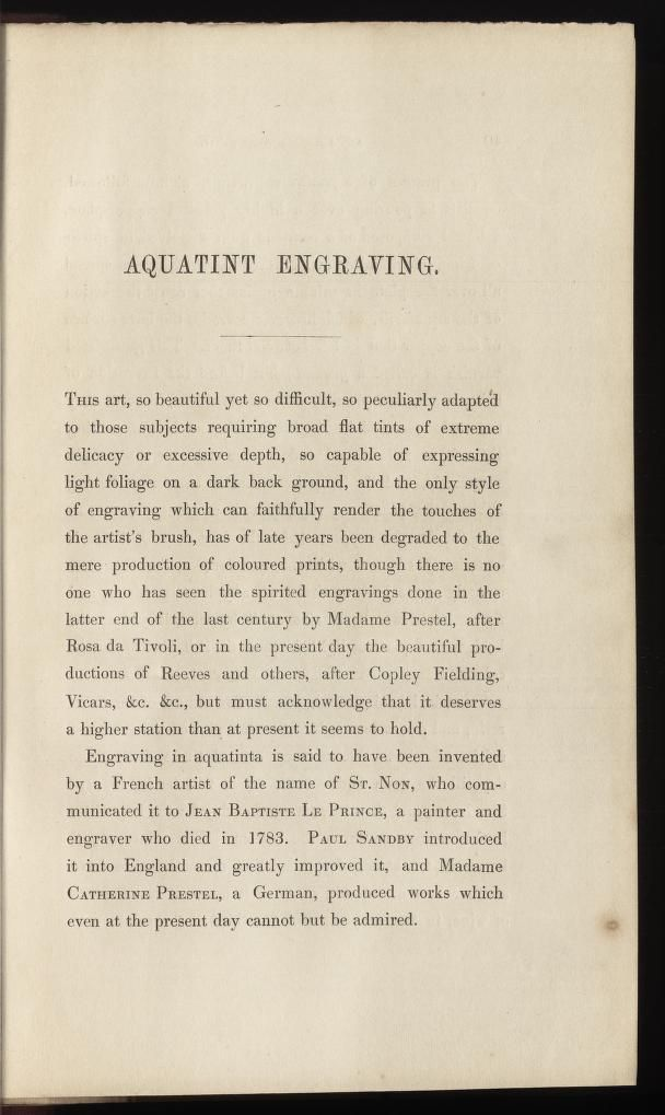 The art of engraving : with the various modes o...
