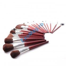 Trusa 24 pensule machiaj par natural Megaga - http://exomag.ro/pensule-machiaj-profesionale-makeup/trusa-24-pensule-pentru-machiaj-megaga-professional-par-natural-gentuta.html