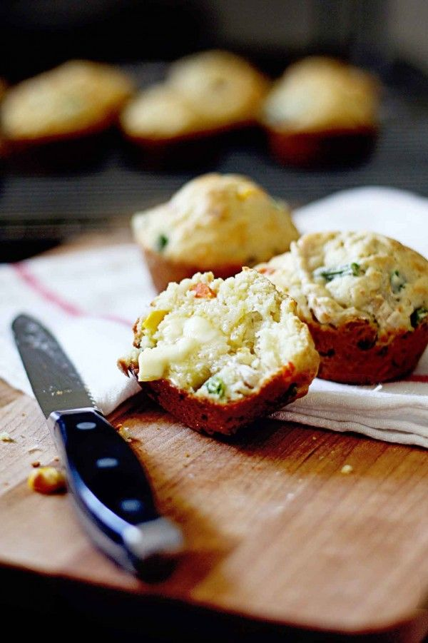 Chicken Pot Pie Muffins - great for school lunchboxes!