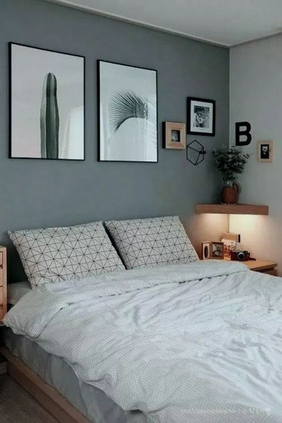 Simple Minimalist Bedroom Decoration For Tiny Home In 2020 Home