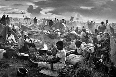Rwandan Refugees. Sebastao Salgado