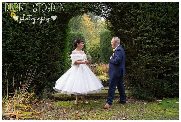 Twirling wedding dress at Judges Hotel Wedding