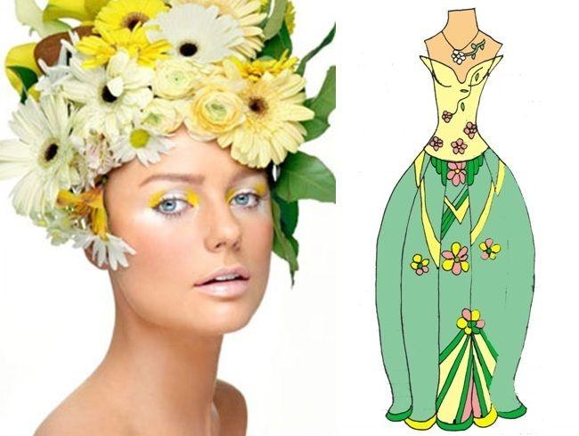 Choosen makeup №4 (My sketch)  #fashion #Style #мода #design #designer #дизайнер #стиль