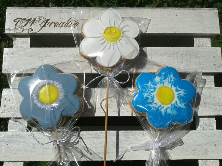 #TMJcreative #gingerbreadcookie #cookieonstick #flower