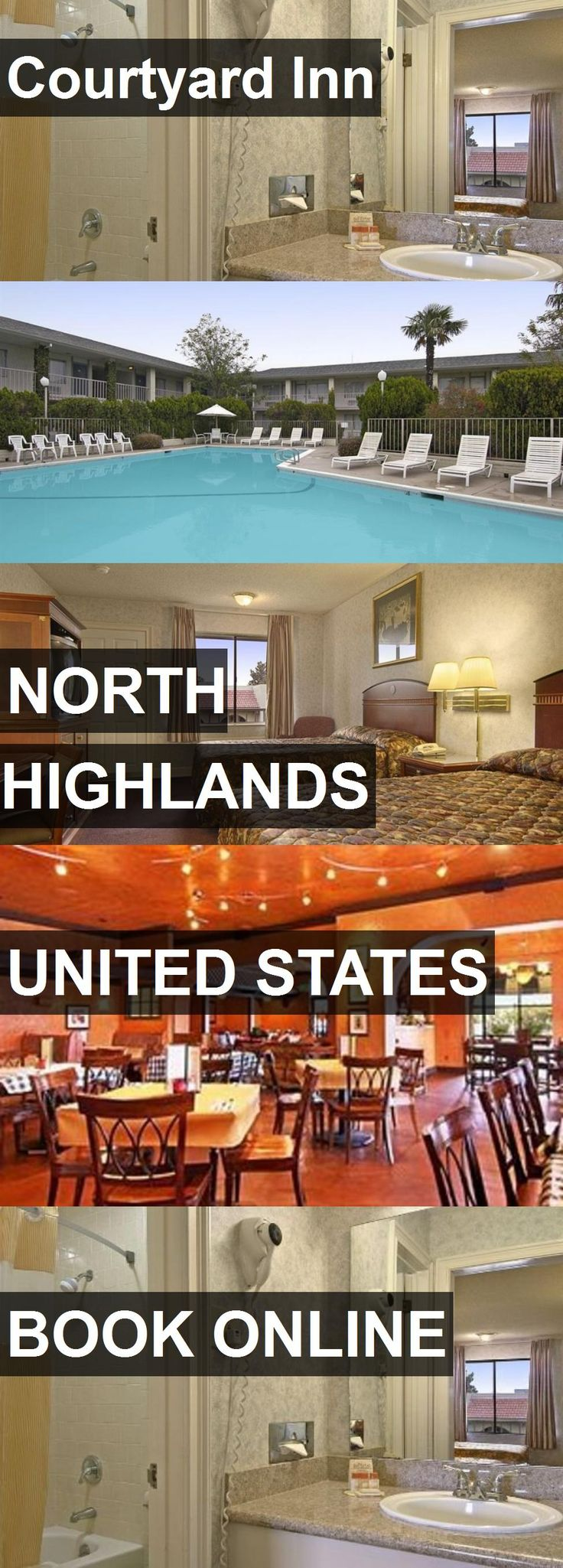 Hotel Courtyard Inn in North Highlands, United States. For more information, photos, reviews and best prices please follow the link. #UnitedStates #NorthHighlands #travel #vacation #hotel