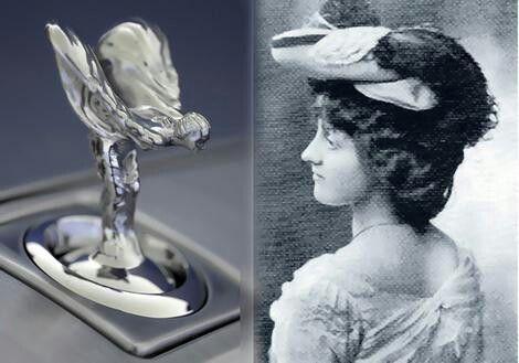 Spirit of Ecstacyis de naam van de mascotte die sinds1911deradiatorvan deRolls-Roycesiert. De mascotte is een ontwerp vanCharles Sykes, gebaseerd op actrice en modelEleanor Thornton(1880-1915). Het beeldje stelt een vrouw voor die voorover buigt met haar armen naar achteren gestrekt, daarbij waaiert haar kleding uit, hetgeen lijkt op vleugels. Tot1914werden deze beeldjes standaard uitgevoerd in zilver.