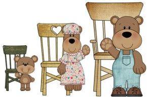 3 beren stoel