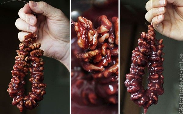 Natural Grape & Walnut Candy | Churchkhela from the ...