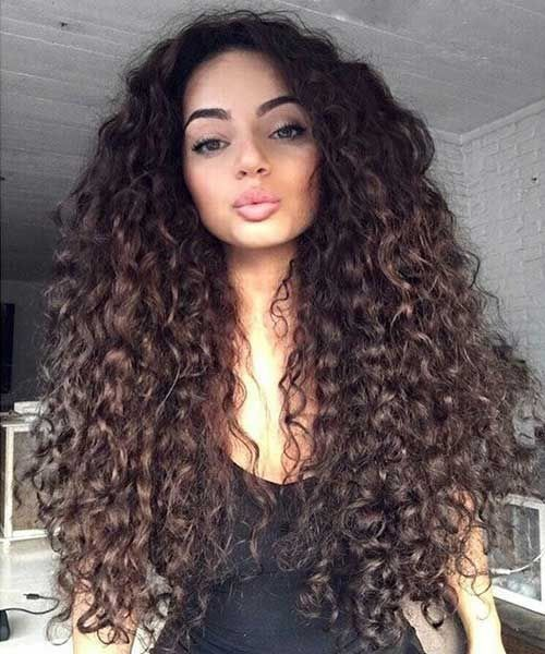 """All women accept altered kinds of hair, with the rarest affectionate of beard that women accept been accepted to accept actuality beard that is both continued and curly. Women who accept continued and coiled beard generally accept agitation advancement arresting and ablaze hairstyles, which is why they consistently attending for account which they can use … Continue reading """"Different Long Curly Hairstyles Ideas 2017/2018"""""""