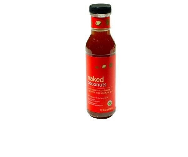 Soy-free coconut soy sauce- an all-natural, raw, organic, gluten-free, non-GMO and soy-free product! A soy-sauce substitute with rich and salty with a deep, flavour with about about 1/3 the sodium of normal soy sauce.