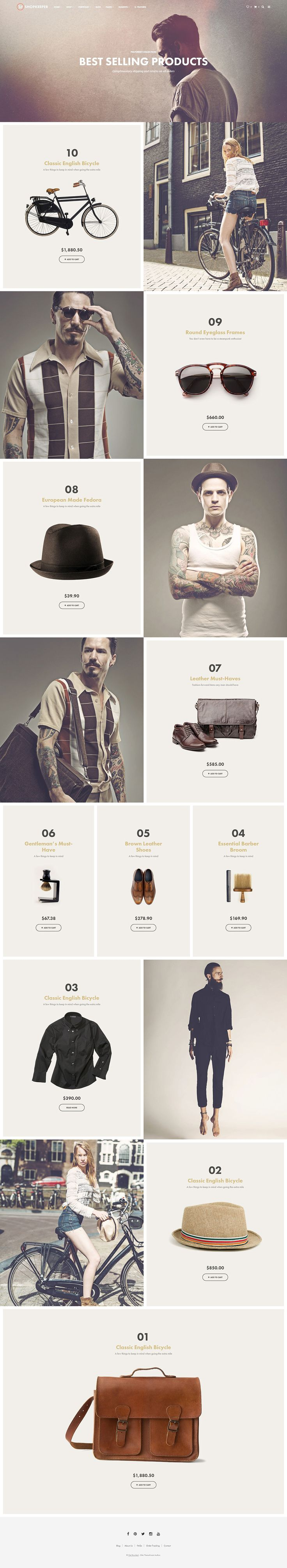Shopkeeper - Responsive WordPress Theme - WordPress | ThemeForest