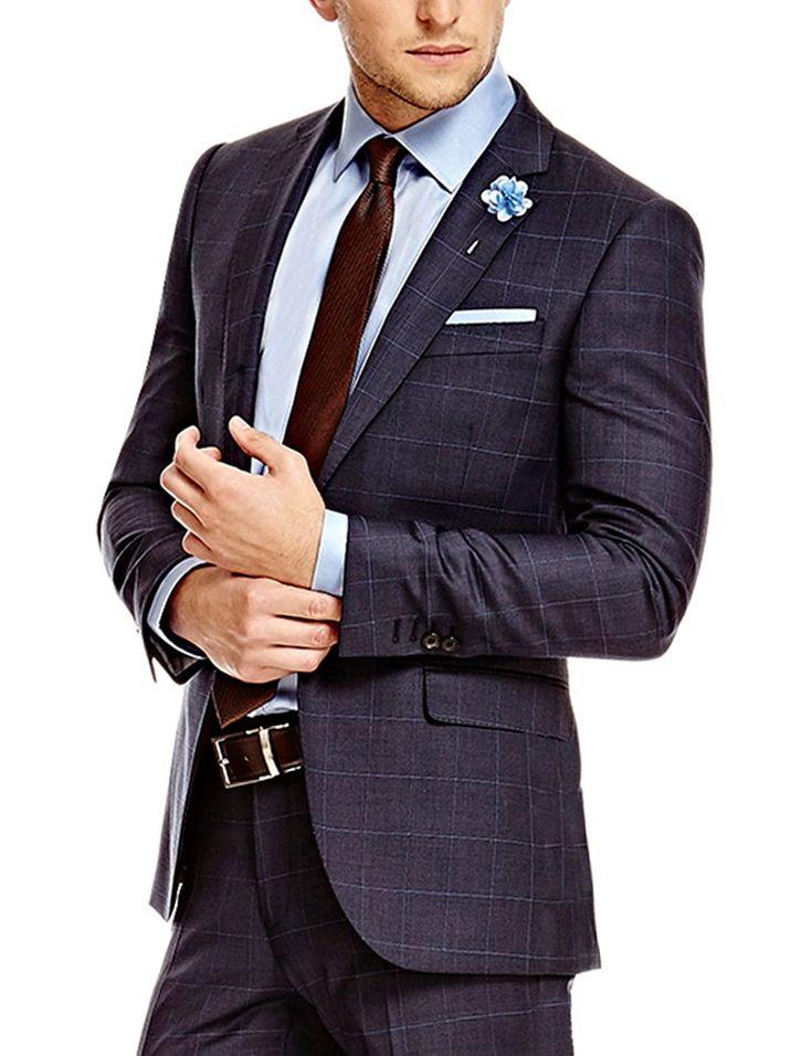 Best 25 Slim Fit Suits Ideas On Pinterest Mens Suits