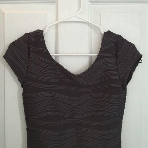 gray scoop neck dress gray scoop neck dress with ribbed detailing FAST SHIPPING | DEALS ON BUNDLES B Darlin Dresses