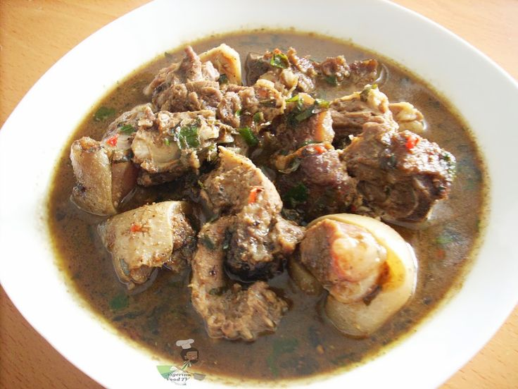 Nigerian Goat meat pepper soup | Nigerian Food Recipes