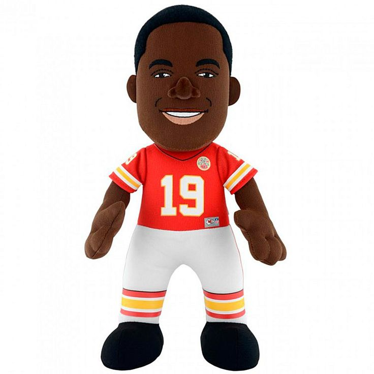 "Officially Licensed NFL Jeremy Maclin 10"" Plush Figure - Kansas City Chiefs"