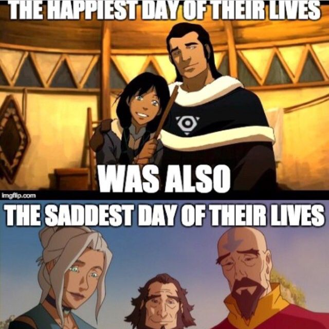 The death of one Avatar brings the birth of another