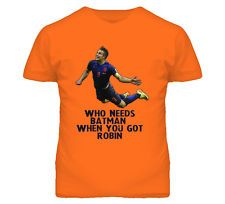 Robin Van Persie Netherlands Soccer Holland World Cup Futbol T Shirt