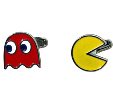 Pac-Man Cufflinks (S$39 at Shop.Sold.sg)