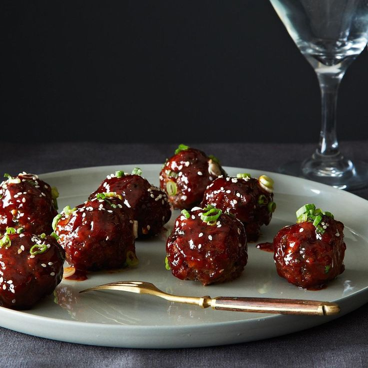 Spicy Korean-Style Gochujang Meatballs Recipe on Food52 recipe on Food52