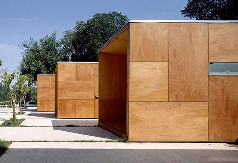 Parklex - Composites Guera: Parklex Facade, Alhambra Information points