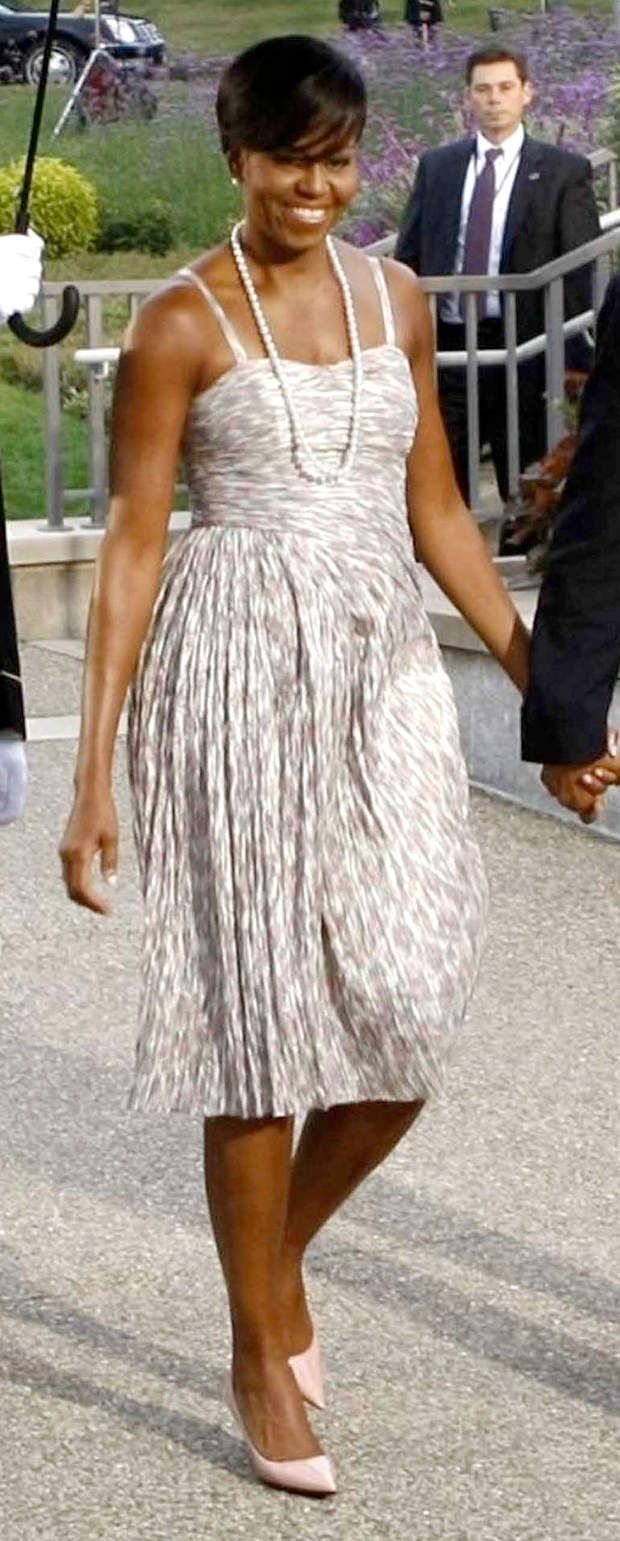 Michelle Obama en mode 50's : joli !