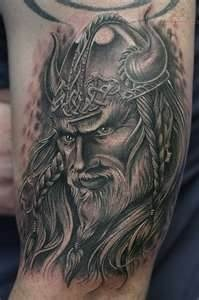 Viking Warrior Tattoo