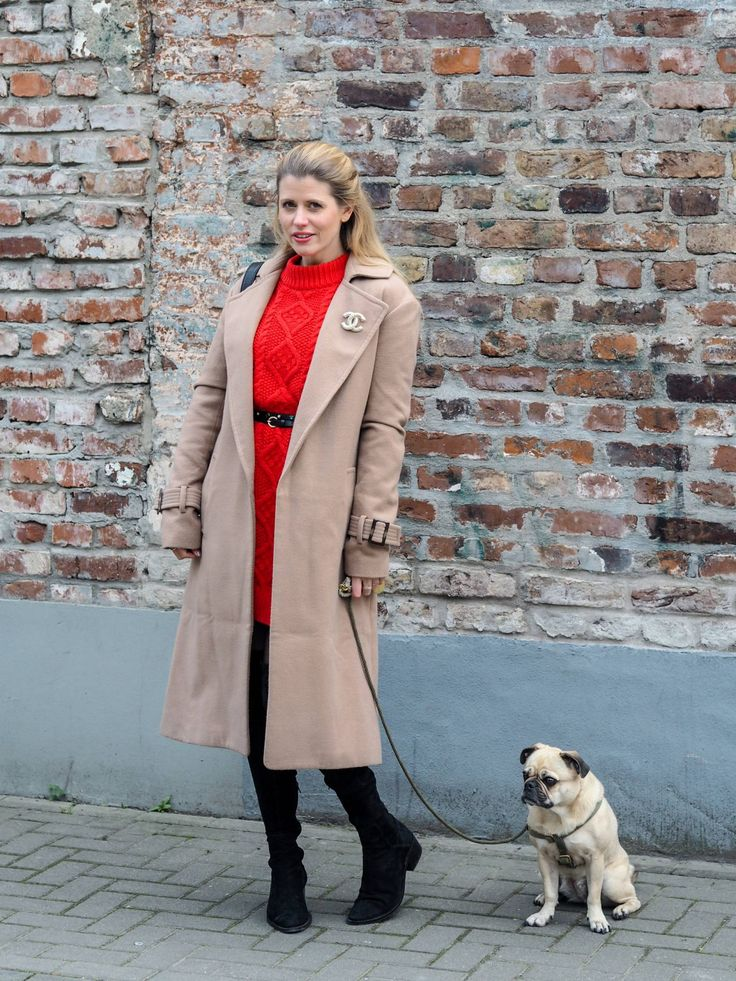 Fashion-Das-Blogger-Lookbook-Mantel-camel-Coat-Overknees-Strick-Rot-Chanel-Look-Style-Blog-Kathi-Meetthehappygirl-Köln