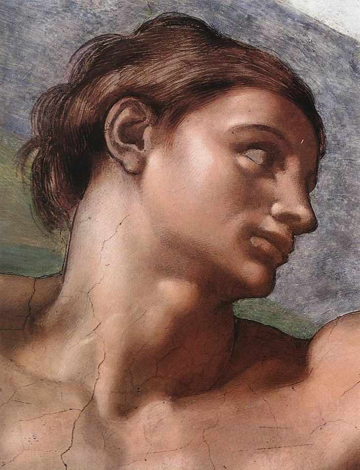 ❤ - MICHELANGELO BUONARROTI - (1475 - 1564) - Sistine Chapel - Creation of Adam (detail).:
