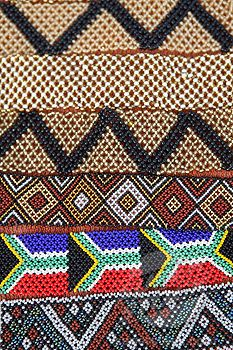 African Traditional Beaded Wristbands including the South African Flag  Cape Town, Western Cape, etc.