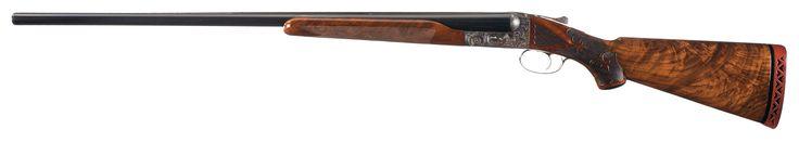 Engraved New Ithaca Model Grade 5E Double Barrel Shotgun