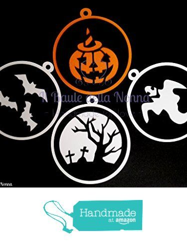 SET 4 TAG HALLOWEEN (art. 93) da Il Baule della Nonna https://www.amazon.it/dp/B01MEF1I3K/ref=hnd_sw_r_pi_dp_hXCaybGHQEA50 #handmadeatamazon
