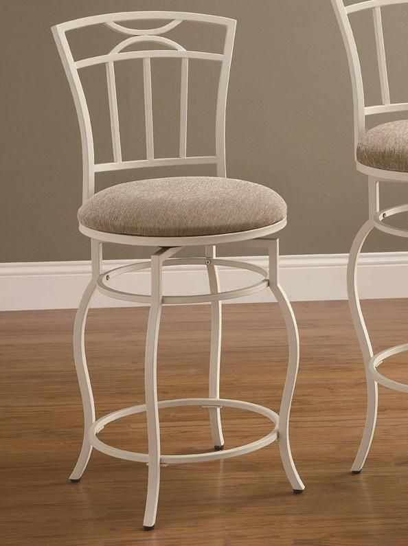 24  Cream White Metal Swivel Counter Height Stool Chair by Coaster .ubuyfurniture. & 16 best 24