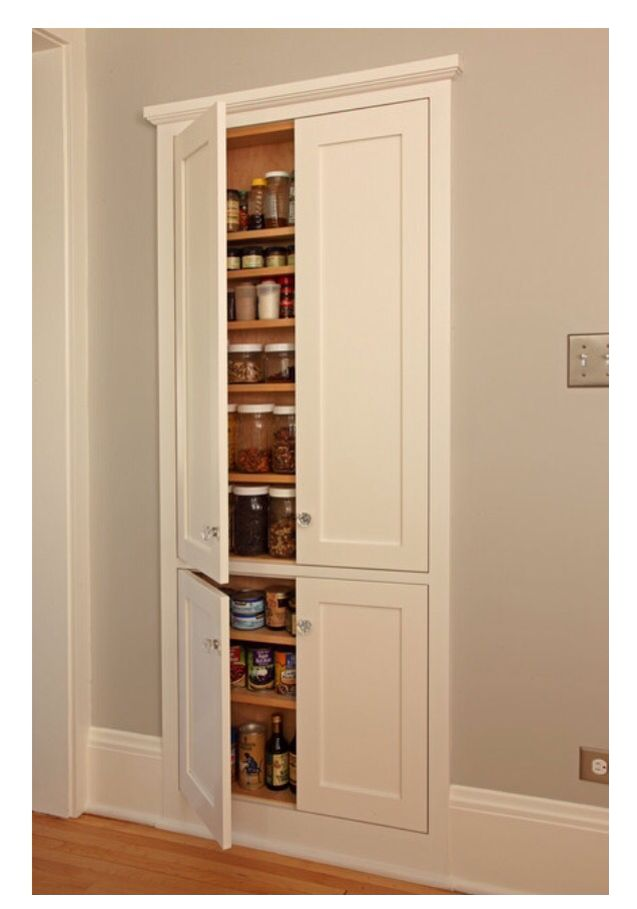 1000 Ideas About Wall Pantry On Pinterest Pantries Pantry Cabinets And Mustard Yellow Paints
