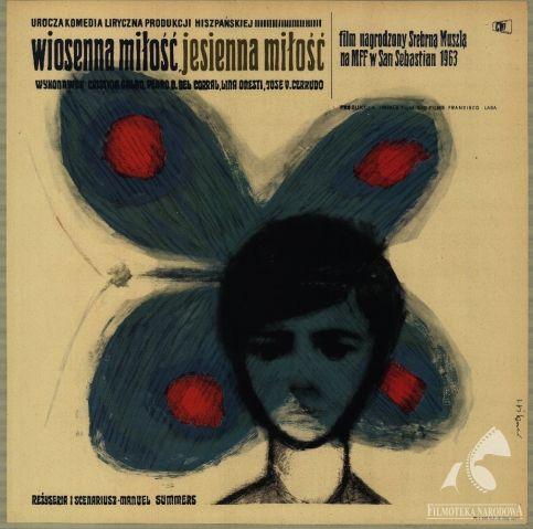 DEL ROSA AL AMARILLO, dir.  Manuel Summers (1963). Polish poster: Maciej Hibner (GAPLA) #gapla #poster #filmposter #polishposter