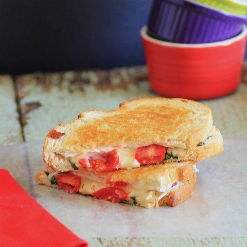 Sandwich de Brie a la plancha.