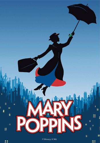 Julie Andrews and Dick Van Dyke star in Mary Poppins