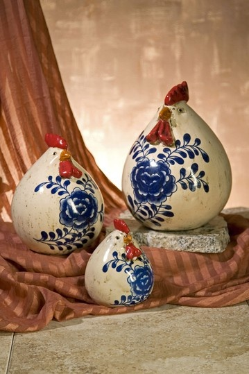 Scandinavian Chickens - Scandinavian, huh? I have one in my kitchen. Got it on sale from Fred Meyers.
