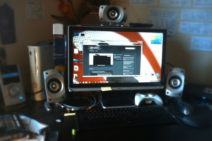 Adding a monitor and surround system to setup
