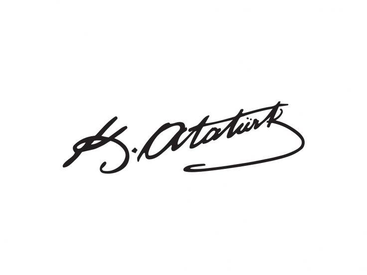 Atatürk İmza Vector