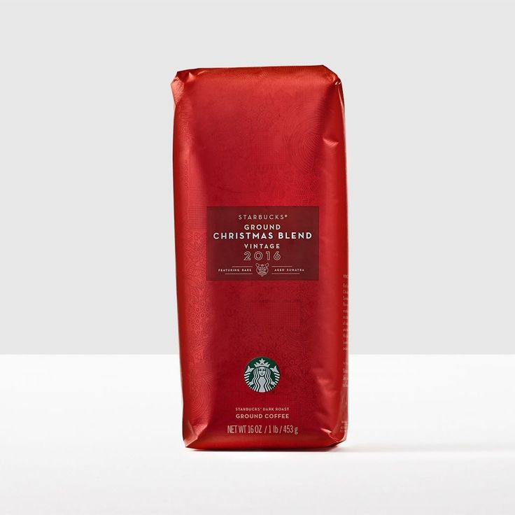 Christmas Blend Vintage 2016, Ground. Distinctive cedary, spicy layers balanced by a sweet, rich smoothness.