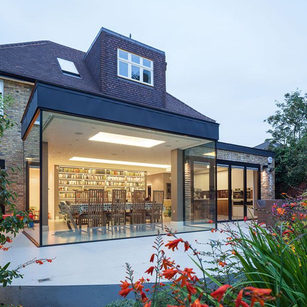 architect for glass extension