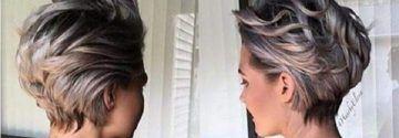 Haarfarbetrends 2016! 12 Kurzhaarschnitte in den Farbtrends Platinblond und Granny-Grau!
