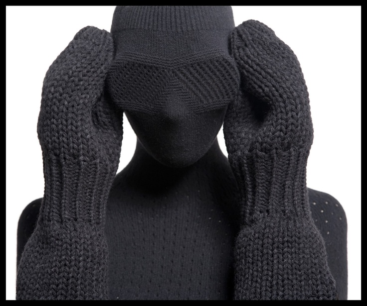 design by Sarena Huizinga. perfect for winters in MN. Can you imagine knitting this? Love it!